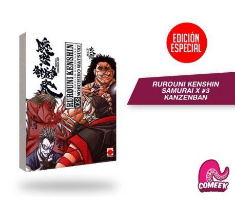 Manga Rurouni Kenshin Kanzenban número 3