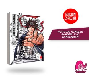 Rurouni Kenshin Kanzenban número 5