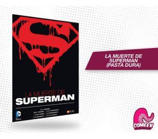 La muerte de Superman edición pasta dura