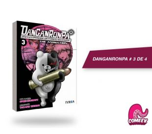 Dangaronpa The Animation vol 3 de 4