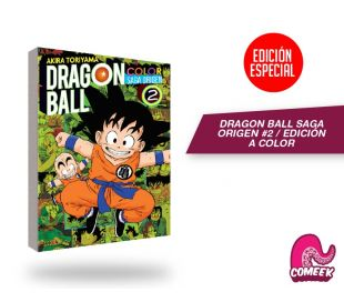 Dragon Ball Saga Origen a Color número 2