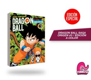 Dragon Ball Saga Origen a Color número 3
