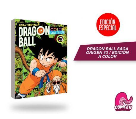 Dragon Ball Saga Origen a Color número 3
