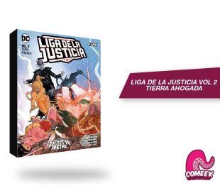 Liga de la Justicia Vol 2 Tierra Ahogada