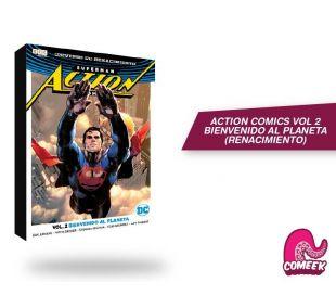 Action Comics Vol 2 Bienvenido al planeta