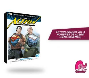 Action Comics Vol 3 Hombres de Acero