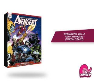 Avengers Vol 2 Gira Mundial Fresh Start