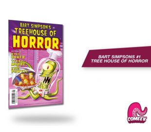 Bart Simpsons Three House Of Horror