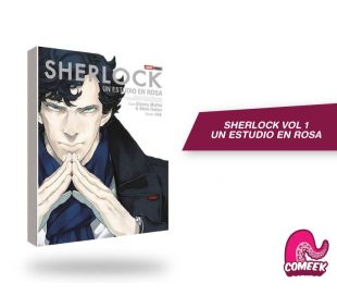 Sherlock número 1 Un estudio en Rosa