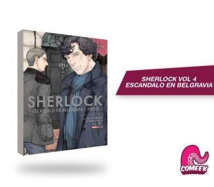 Sherlock número 4 Escándalo en Belgravia