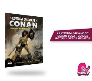 La Espada Salvaje de Conan Vol.1 Clavos Rotos y Otros Relatos