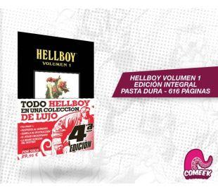 Hellboy Integral volumen 1 - Pasta dura