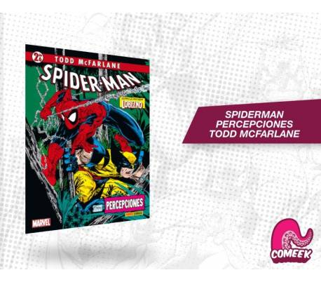 SPIDERMAN PERCEPCIONES TOOD MCFARLANE
