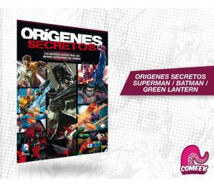 orígenes Secretos - Superman / Batman / Green Lantern