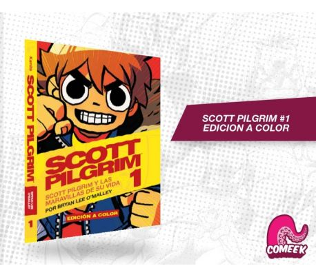 SCOTT PILGRIM NÚMERO 1 EDICIÓN A COLOR