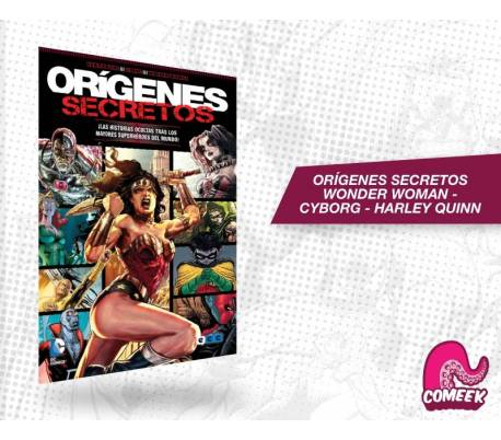 orígenes Secretos - Wonder Woman / Cyborg / Harley Quinn